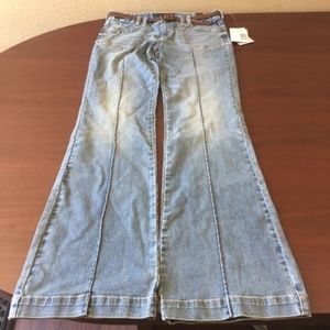 NWT- G By Guess Trouser Boot  With Belt Jeans-177